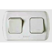 Interruptor 2 Puntos Exterior Linea Tekna Color Blanco Kalop