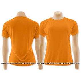 Camisa Baby Look Feminina Tradicional Basica Algodão