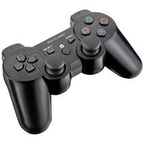Joypad Dualshock Sem Fio 3 Em 1 Para Ps2/ps3/pc - Multilaser