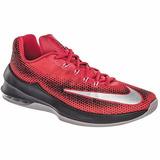 Men Tenis Nike Air Max Infuriate Lo 852457-600 Rojo Negro Oi