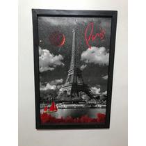 Cuadro Decorativo Paris Torre Eiffel