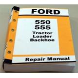 Manual Retroexcavadora Ford New Holland