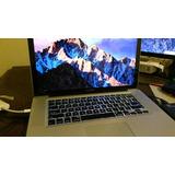 Macbook Pro Intel Core I7, 15 Pulgadas, 8 Gb Ram, 500 Gb Hdd