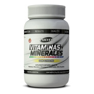 Multi Vitaminas Pulver X 60 Minerales Ginseng Fuerza Sin Tac