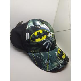 Boné Infantil Bebê Personagem Menino Batman 1pç Verão Preto 7800832c631