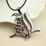 Death Note Collar De Metal Importado Doble Dije L