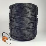Rolo Corda (monofil) Nº 2 Preto 2kg Apx 400mts P/ Rede Pesca
