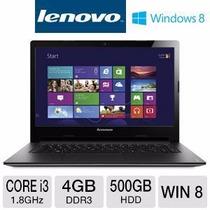 Laptop Lenovo Ideapad S400 I3 1.5 Ghz 4 Gb Ram 500 Gb Dd