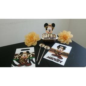 Mickey Safari Cotillón Decoración Fiesta