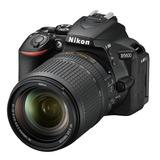 Camara Nikon D5500 24.2 Mp - 18-140mm F/3.5-5.6g Vr Touch