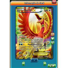 Pokemon Tcg Online - Ho-oh Ex Full Art - Carta Virtual