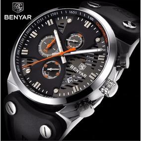 Relógio Benyar Aviador Black Original Preto C Garantia + Nf d69e06eb1f