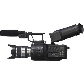 Filmadora Sony Nex Fs700r 4k Super 35 Lente Sony 18-200m #