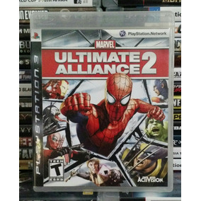 Marvel Ultimate Alliance 2 - Ps3 - Mídia Física!