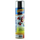 Tinta Spray Metálica Cromado Mundial Prime 400 Ml
