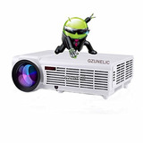 5500 Lumens Smart Android 4.4 Lcd Tv Led Projector Full Hd A