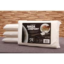 Kit 4 Travesseiros Nasa Viscoelástico Troque De Travesseiros
