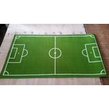 Alfombra Carpeta Cancha De Futbol Canchita Verde Gigante