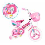 Bicicleta Rodado 12 Peppa Pig Unibike Garantia Oficial