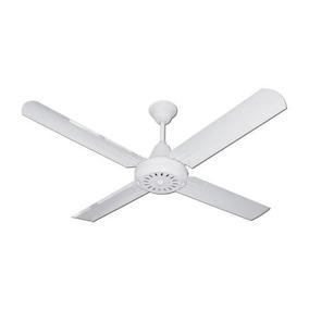 Ventilador De Techo Mihura Blanco Vt 601 4 Paletas