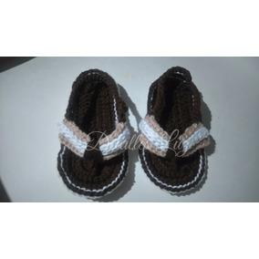 Zapatitos Sandalias Tejidos A Crochet Para Niño O Niña