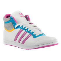 Zapatillas Adidas Originals Top Ten Hi Sleek Mujer Blanco