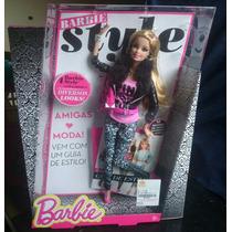 Boneca Barbie Style Luxo 2013 2014 Toda Articulada