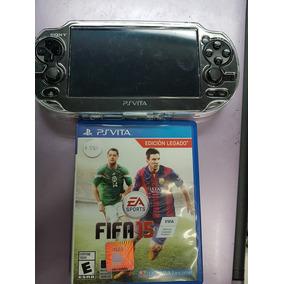 Consola Ps Vita Fat Negro Playstation Con Un Juego Fifa 15