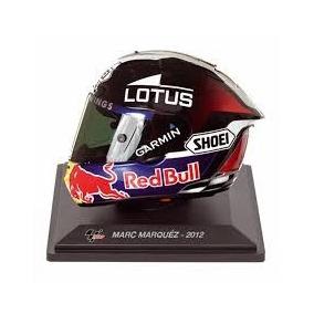 Coleção Melhores Capacetes Moto Gp Ed 08 Marc Márquez -2012