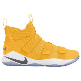 Nike Lebron Soldier 11 Tb Yellow Bota Mayma Sneakers