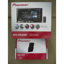Dvd Pioneer Avh-p8450bt + Gps Avic-f220 Ambos Na Caixa