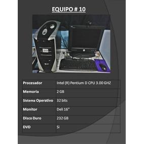 Computadora Intel (r)pentium D Cpu 3.00 Ghz