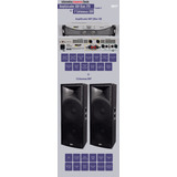 Combo Potencia Skp Max 720+cajas 2 X15 Skp 2154 Insuperable