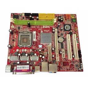 Placa Mãe Msi 775 P4m900m Ms-7255 Lga775 Ddr2