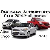 Diagramas Automotrices Multimarca Ciclo 1990-2014