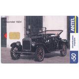 Uruguay Tarjeta Teléfono Tc Nº359 Cachila Chevrolet Año 1924