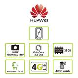 Mate 8 Gris Celular Libre - Marca Huawei
