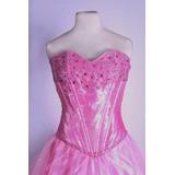 Vestido De 15 / Fiesta Color Rosa A Precio Mayorista!!!