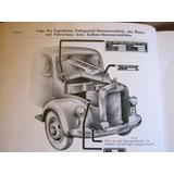 Mercedes-benz Typ Om 312 Motor Ersatzteilliste 1956