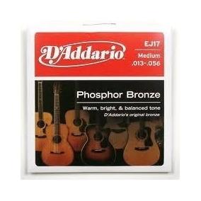 Cuerdas Para Guitarra Dáddario Phosphor Bronce Encordador G