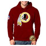 Blusa Moletom Washington Redskins Moleton Índio Nfl Unissex 0dc054a02745a