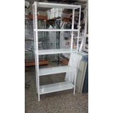 Estanteria Metalica 30x90x2mt Con 5 Estantes Para 40kg X Est