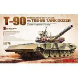 Meng - Russian Main Battle Tank T-90 W/tbs-86 (montado)
