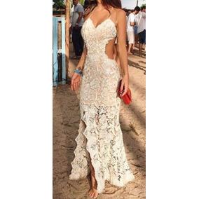 Vestido Longo Renda Madrinha Formatura Casamento Festa #vl10