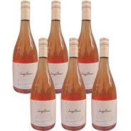 Vino Luigi Bosca Rose Rosado 750ml X6 Bebida