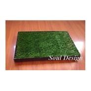 Repuesto Pasto Sintético Para Bandeja Sanitaria 45x60cm Soul