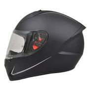 Casco Para Moto Mt Helmets Stinger Negro Mate Motocity