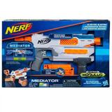 Pistola Nerf Modulus Mediator N-strike 6 Dardos Casa Valente