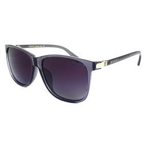Oculos De Sol Premium Gg17 Gucci Degradê Uv400 Transparente