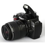 Espectacular Cámara Profesional Reflex Nikon D40 X